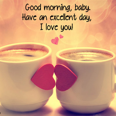 Cute & Romantic Good Morning Wishes - Good Morning Images