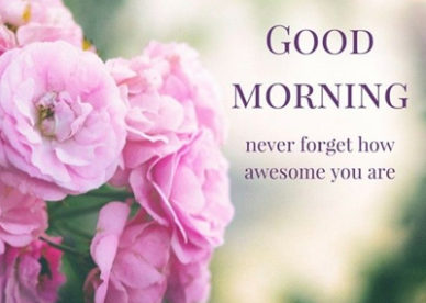 Never Forget How Awesome You Are Morning Wishes For Friends