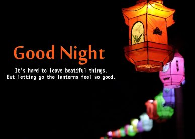 Good Night Images With Lanterns - Good Morning Images, Quotes, Wishes, Messages, greetings & eCard Images