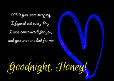 Good Night Messages For Honey - Good Morning Images, Quotes, Wishes, Messages, greetings & eCard Images