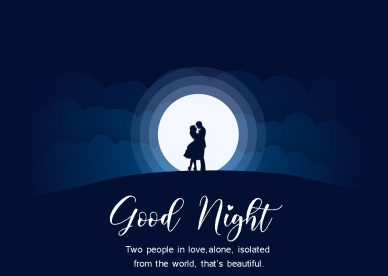 Good Night Two People In Love - Good Morning Images, Quotes, Wishes, Messages, greetings & eCard Images