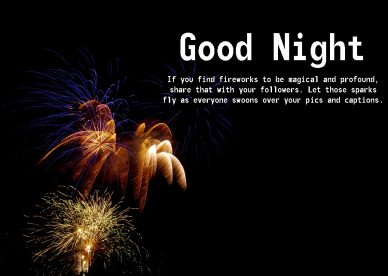 Good Night fireworks Images - Good Morning Images, Quotes, Wishes, Messages, greetings & eCard Images