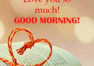 Good Morning Love You So Much - Good Morning Images, Quotes, Wishes, Messages, greetings & eCard Images
