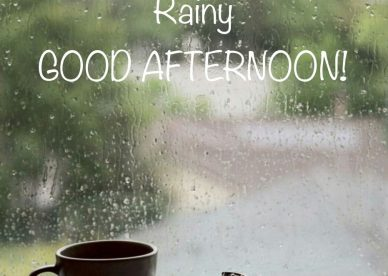 Rainy Good Afternoon Images - Good Morning Images, Quotes, Wishes, Messages, greetings & eCard Images