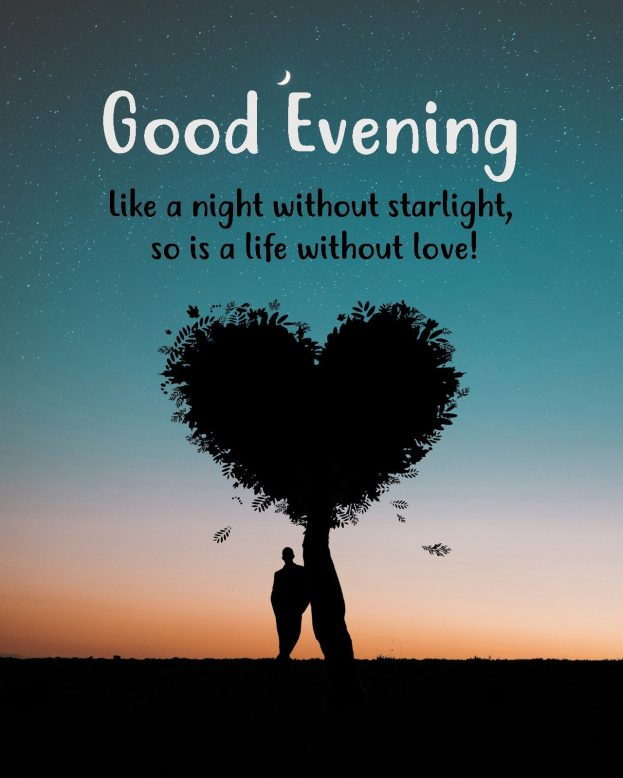 Romantic Good Evening Images - Good Morning Images, Quotes, Wishes, Messages, greetings & eCard Images