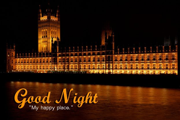Good Night My Happy Place - Good Morning Images, Quotes, Wishes, Messages, greetings & eCard Images