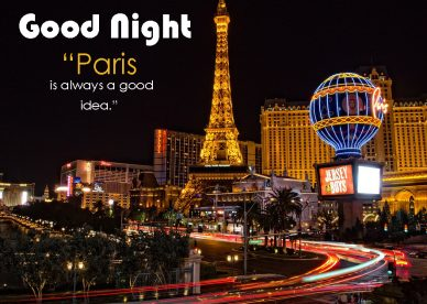 Good Night Paris Images - Good Morning Images, Quotes, Wishes, Messages, greetings & eCard Images