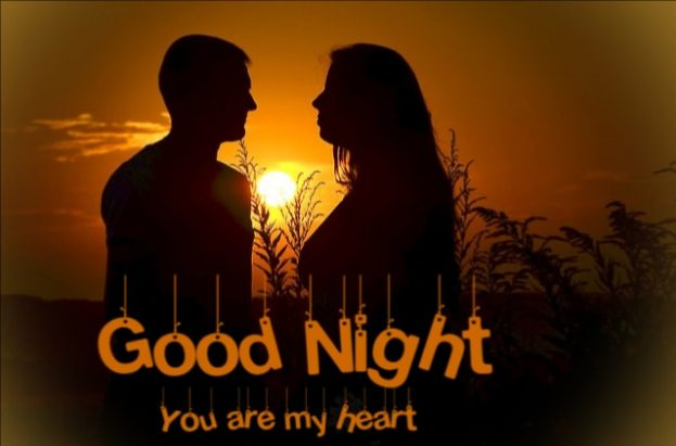 Good Night You Are My Heart - Good Morning Images, Quotes, Wishes, Messages, greetings & eCard Images