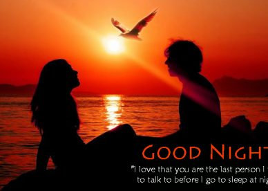 Romantic Good Night Lovers - Good Morning Images, Quotes, Wishes, Messages, greetings & eCard Images