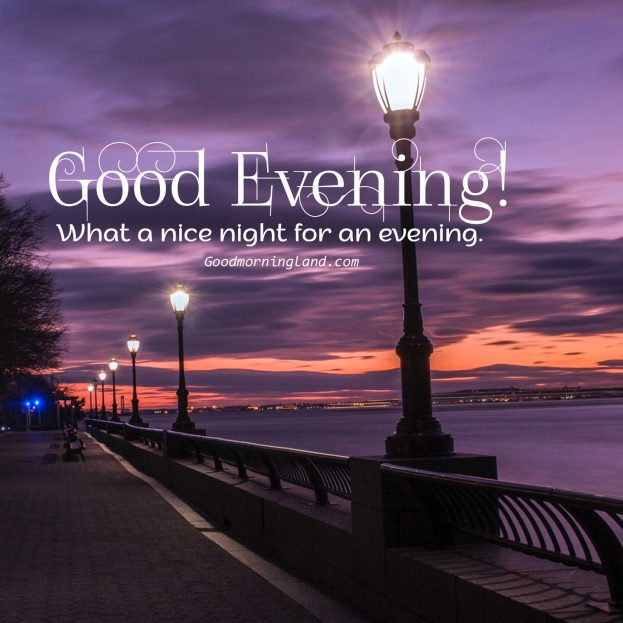 Appreciate your friends by sending lovely Good Evening Images - Good Morning Images, Quotes, Wishes, Messages, greetings & eCard Images