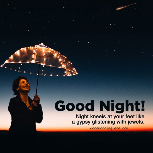 Beautiful Night, Beautiful Sky, Beautiful Good Night Images - Good Morning Images, Quotes, Wishes, Messages, greetings & eCard Images
