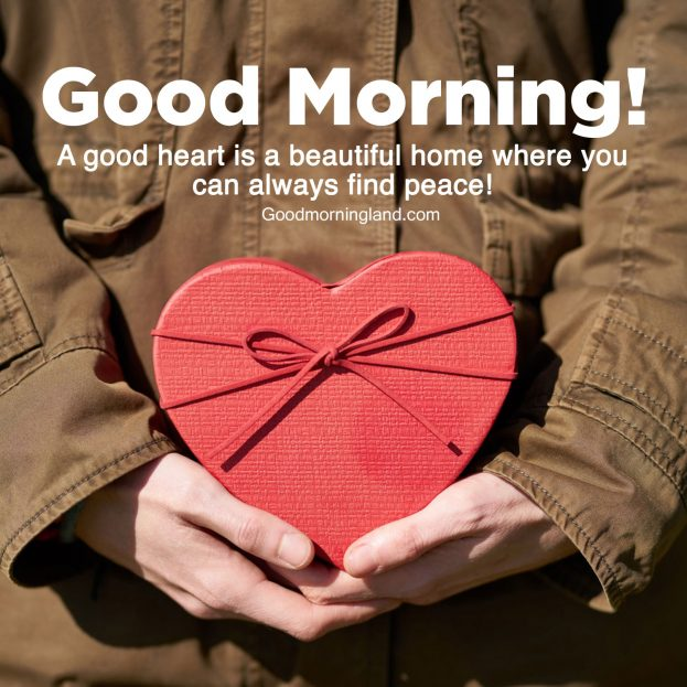 Lovely Good Morning Hearts Images 2021 - Good Morning Images, Quotes, Wishes, Messages, greetings & eCard Images