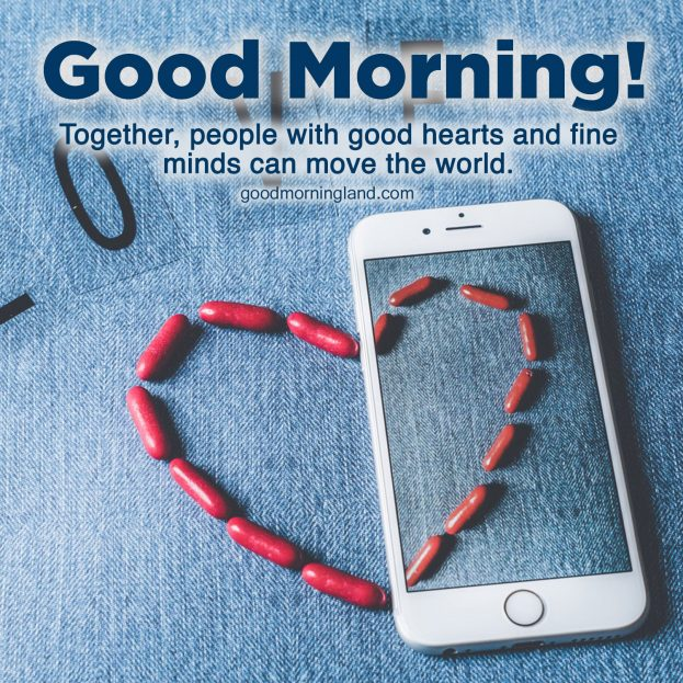 Lovely Good Morning Hearts Images for your boyfriend and girlfriend - Good Morning Images, Quotes, Wishes, Messages, greetings & eCard Images