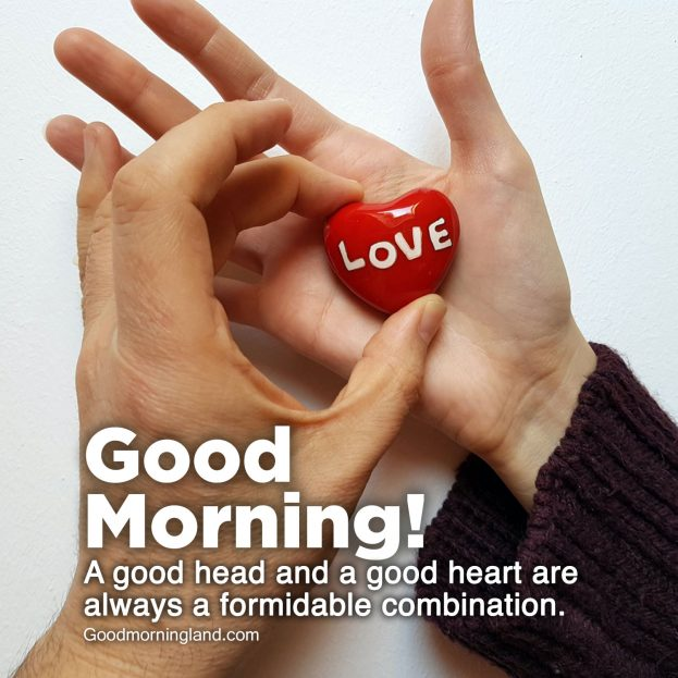 Lovely Good Morning Hearts Images for your loved ones - Good Morning Images, Quotes, Wishes, Messages, greetings & eCard Images
