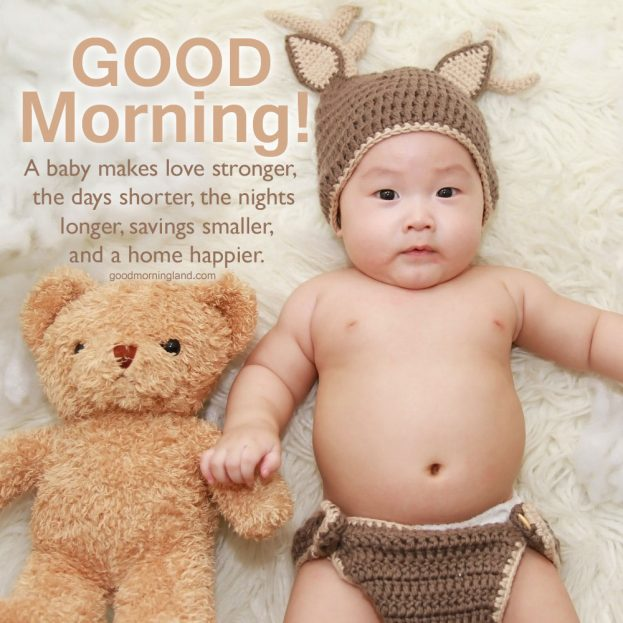 Beautiful and Amazing Good morning Baby images - Good Morning Images, Quotes, Wishes, Messages, greetings & eCard Images.