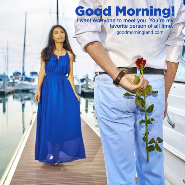 Lovely Good Morning romantic images for a lovely person - Good Morning Images, Quotes, Wishes, Messages, greetings & eCard Images.