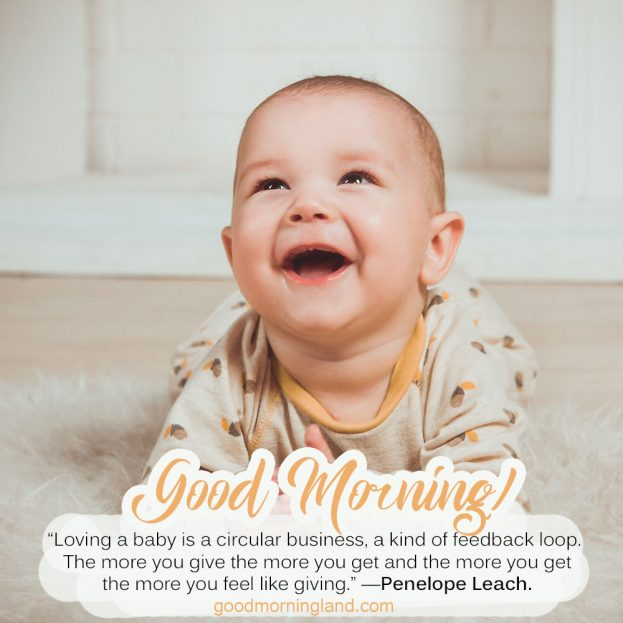 Lovely and Good morning Baby images 2021 - Good Morning Images, Quotes, Wishes, Messages, greetings & eCard Images.